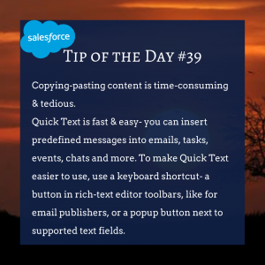 Copy of Salesforce TIP OF THE DAY #39